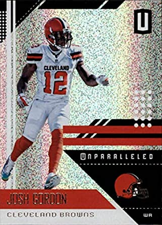 7308ab9a7a9 2018 Panini Unparallel NFL  45 Josh Gordon Cleveland Browns Panini Football  Trading Card