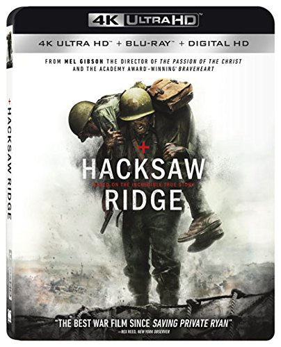4K Blu-ray : Hacksaw Ridge (With Blu-Ray, 4K Mastering, 2 Disc)