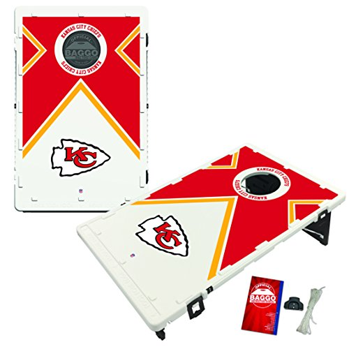 Kansas City Chiefs NFL Baggo Bean Bag Toss Cornhole Game Vintage Design