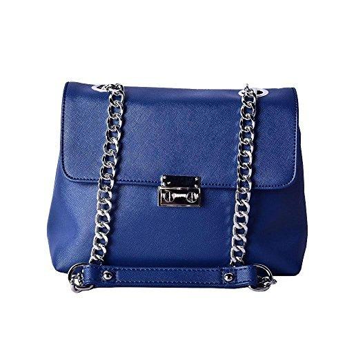 En Forma La Negro Azul De Cadena Alta De Bolso Cruzado Cuerpo Diva De XxHpgq