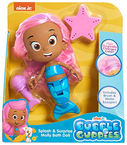 Just Play Bubble Guppies Splash and Surprise Molly Bath Doll