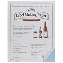 1 X Label Making Paper, Blue by Midwest Homebrewing and Winemaking Supplies
