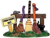 Lemax Spooky Town Broom Parking Rack # 44737
