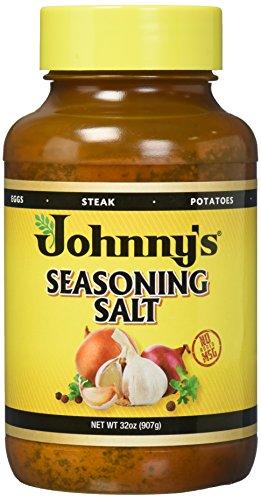 Johnny's Seasoning Salt, 32-Ounce Bottles (Pack of 3) by Johnny's