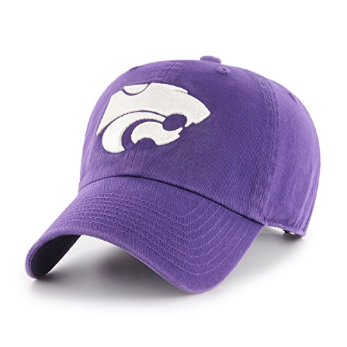 OTS NCAA Kansas State Wildcats Women's Challenger Adjustable Hat, Purple, Women's (Wildcats State Cap)