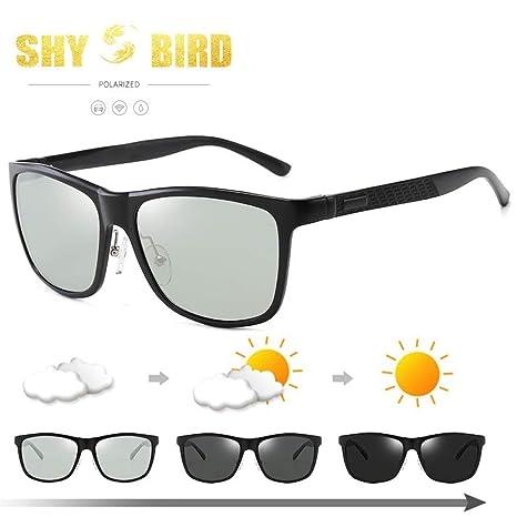 Yangjing-hl Gafas l Anillo con Aluminio magnesio Gafas de ...