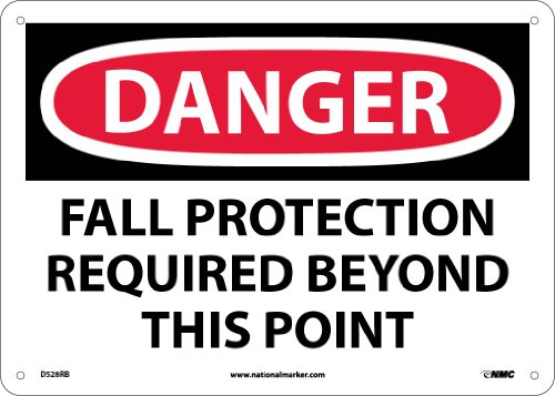 Required Protection (NMC D528RB OSHA Sign,