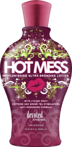 Devoted Creations Hot Mess Tanning Lotion Replenishing Ultra