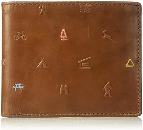 Fossil Men's Eric Leather Rfid Blocking Bifold Wallet