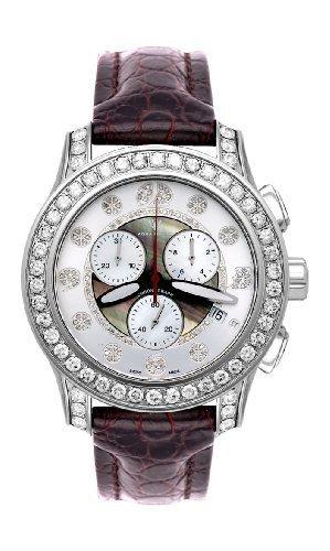 NEW! Aqua Master Men's Masterpiece Diamond Watch, 8.00 ctw by Aqua Master