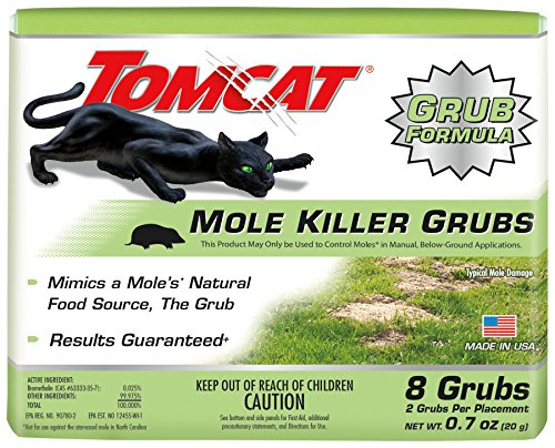 Tomcat 0372410 Mole Killer-Grub Bait (Box), 1 Pack (8