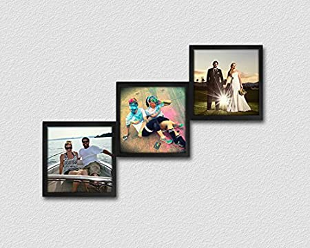 Fotobit Customizable Picture Frames - 3 Wall Collage and Modular ...