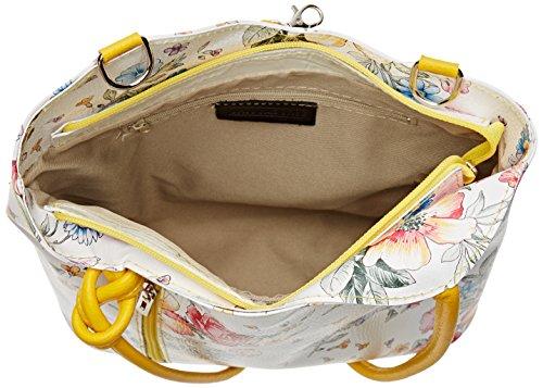 Multicolore portés 80056 épaule Chicca Borse Sacs Fiori Senape wXt85vqx5