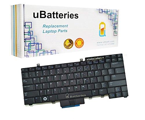 UBatteries Compatible Laptop Keyboard Replacement For Dell Latitude E5400 E5500 E6400 E6500 E5410 E5510 E6410 E6510 Precision M2400 M4400 M4500 0HT514 HT516 0HT516 0UK717 PK130AF2B05 LKB-DE06BS Black