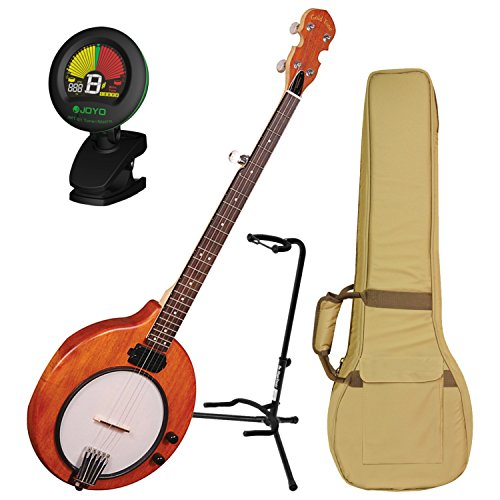 Electric Banjo (Gold Tone EB-5 Electric Banjo w/ Gig Bag, Tuner, and Stand)