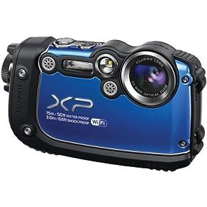 FujiFilm FinePix XP200 16MP 5x Optical Zoom Digital Camera Blue 16317065