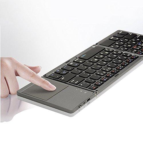 Amazon.com: X-Folding Touch Pro Folding Bluetooth 3.0 Keyboard Korean/English Layout: Computers & Accessories