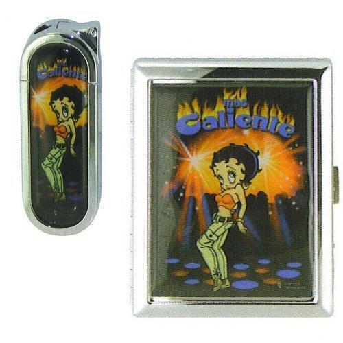 Betty Boop- Gas Lighter Cigarette Case
