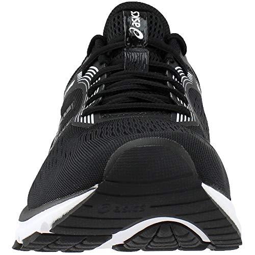 ASICS 1011A042 Men's GT-1000 7 Running Shoe Black/White by ASICS (Image #4)