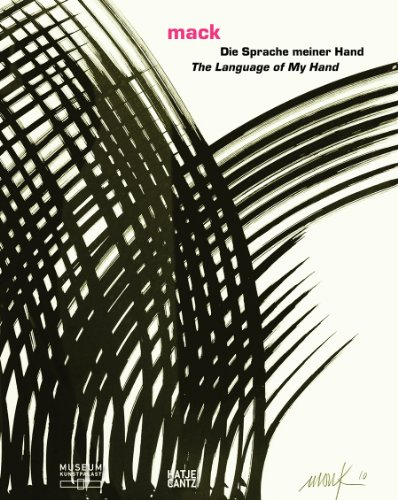 Heinz Mack: The Language of My Hand (English and German Edition) by Hatje Cantz