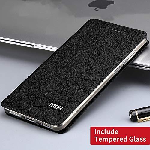 Amazon.com: Keu_20-1 - Funda de piel con tapa para Xiaomi ...