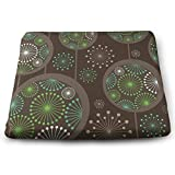 TRUSTINEE Stylized Abstract Dandelion Floral Garden Wheelchair Breathable Square Chair Pads (14.9613.861.22)