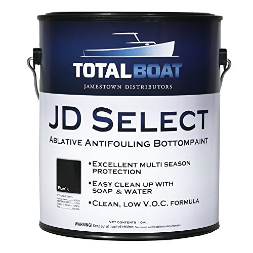 TotalBoat JD Select Bottom Paint (Black, Gallon) (Hard Paint Bottom)