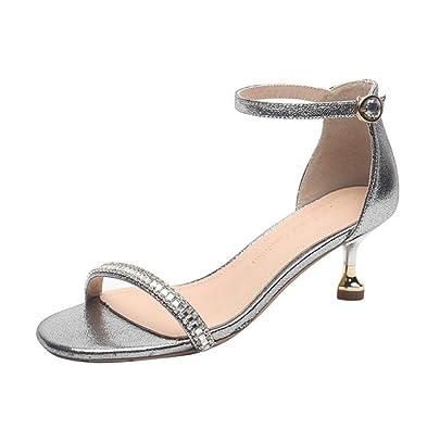 Sandales Confort Plat Talons Femmes Low Chic Elegant Chunk zqULMSGpjV