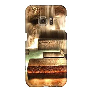 Samsung Galaxy S6 MLj4153dFHO Allow Personal Design Nice Beautiful Fountains Skin Shock Absorbent Hard Phone covers cases Merry for Christmas and New year cases -LeoSwiech
