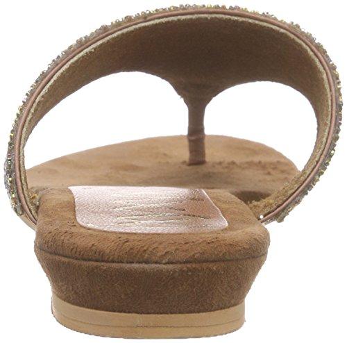 xyxyx Sandale - Sandalias de dedo Mujer Marrón - marrón (Cognac)