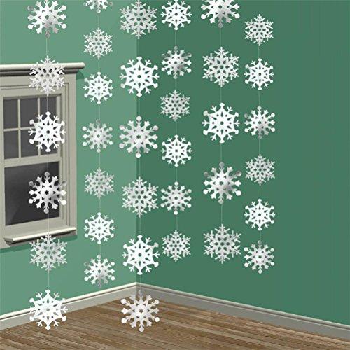 Led 3D Snowflake Christmas Light - 9