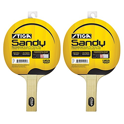 Set of 2 Stiga Sandy Premium Ping Pong Paddle