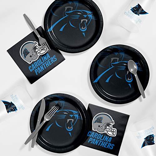 Carolina Panthers Tailgating Kit, Serves - Tailgating Panthers Carolina