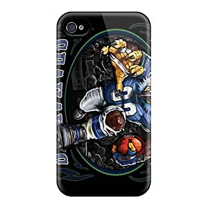 Iphone 4/4s RPc2121IddY Support Personal Customs Realistic Seattle Seahawks Image Great Hard Phone Case -JoanneOickle