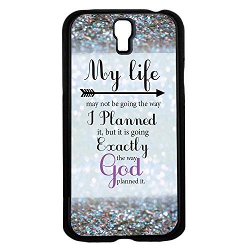 """@ALL """"My Life May Not Be Going the Way I Planned"""" Cover Case For Samsung GALAXY S4 mini(Black) with Best Silicon Rubber"""