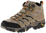 Merrell Men's Moab Mid Gore-Tex Hiking Boot,  Dark Tan, 7 M US