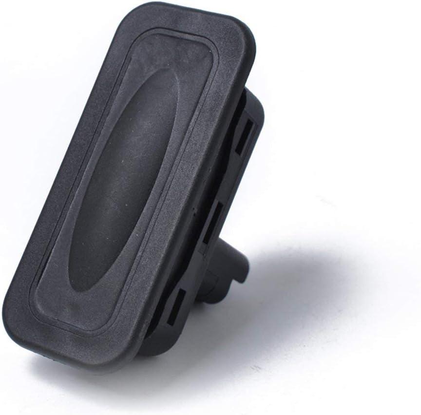 Lorenlli Interruptor de Respaldo del autom/óvil Arranque del port/ón Trasero Interruptor de liberaci/ón del Maletero 8200076256 para Renault Clio Megane Captur Kangoo Interruptor de Equipaje Negro