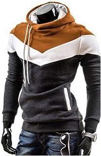 NISO p Fashion Men Hoodie Sweatshirt Long Sleeve Tops Sweatshirts Pullover Male Coats Outerwear Shirt