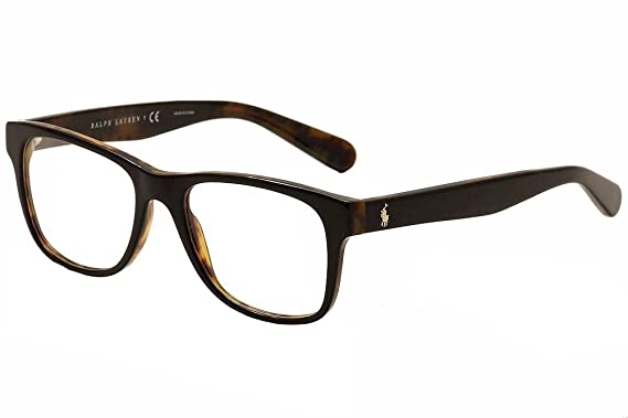 polo ph2144 eyeglass frames 5260 53 top black on jerry tortoise