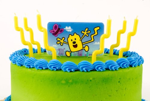 Unique Industries Wubbzy Party Candle Decorator Set -