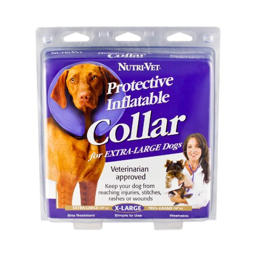 Nutri-Vet Protective Inflatable Collar for Dogs, X-Large