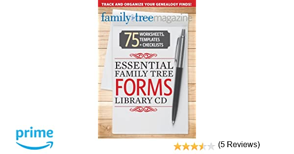 Essential Family Tree Forms Library, Volume 1: Allison Dolan ...