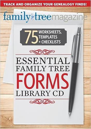 essential family tree forms library volume 1 allison dolan diane