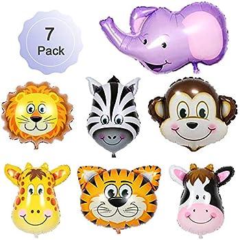Amazon.com: Jungle Safari Animals Balloons Giant Zoo