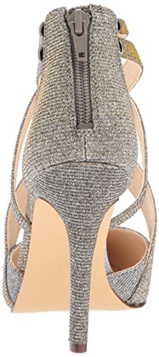 West Nine WoMen Fabric Pump Pewter Zorever TpFqSH