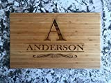 Personalized Gift Wood Cutting Board 11x17