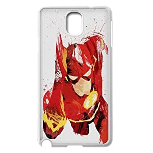 Samsung Galaxy Note 3 Cell Phone Case White flash speed hero illust minimal art T6O5HQ
