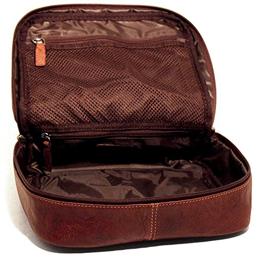 Jack Georges Voyager Large Dopp Kit 7419 by Jack Georges