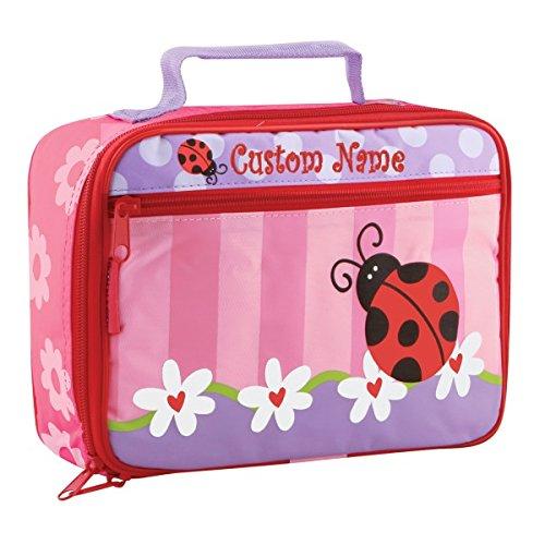 Personalized Classic Ladybug Lunch Box - CUSTOM NAME (Personalized Lunch Box)