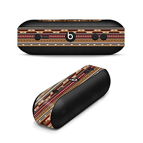 (MightySkins Skin Compatible with Beats by Dr. Dre Pill Plus - Western Horses   Protective, Durable, and Unique Vinyl Decal wrap Cover   Easy to Apply, Remove, and Change Styles   Made in The USA)